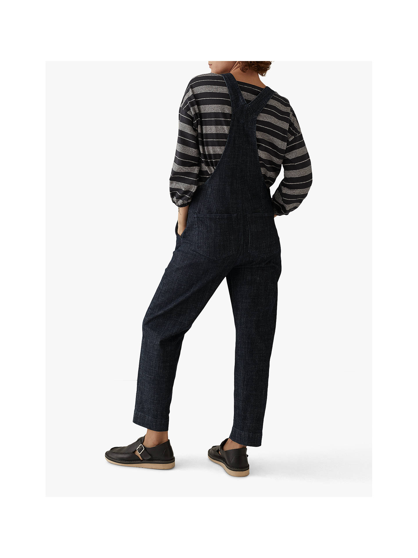 BuyToast Stretch Denim Dungarees, Indigo, 8 Online at johnlewis.com