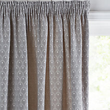 Buy John Lewis Feather Spot Lined Pencil Pleat Curtains Online at johnlewis.com