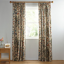 Buy Morris U0026 Co Kelmscott Tree Lined Pencil Pleat Curtains, Multi Online At  Johnlewis. Part 39