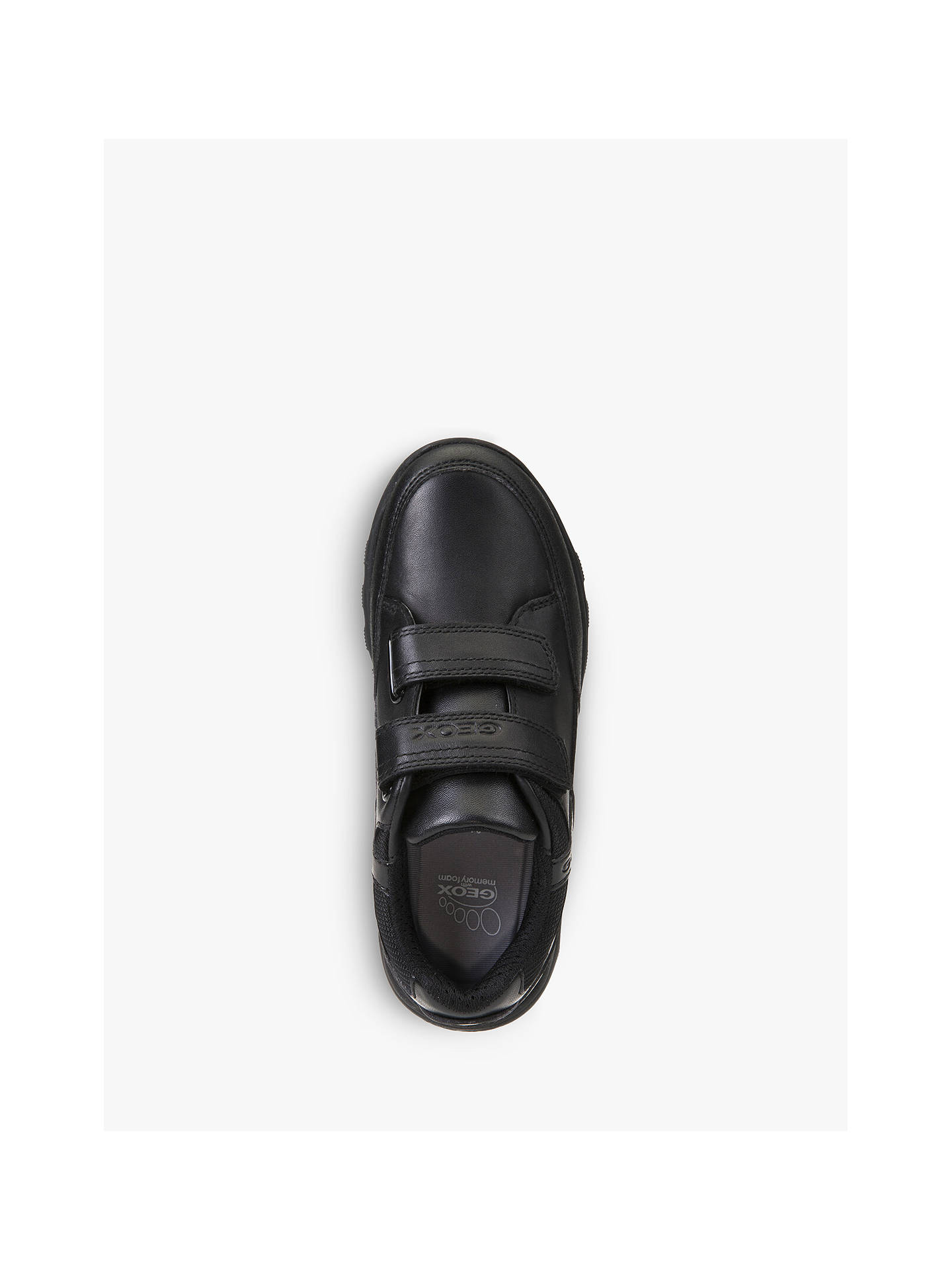 Geox Children's Xunday Shoes, Black at John Lewis & Partners