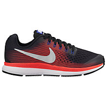 Buy Nike Children's Air Zoom Pegasus 34 (GS) Running Shoes Online at johnlewis.com