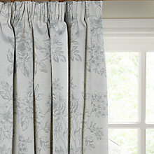 Buy John Lewis Country Garden Lined Pencil Pleat Curtains, Duck Egg Online at johnlewis.com