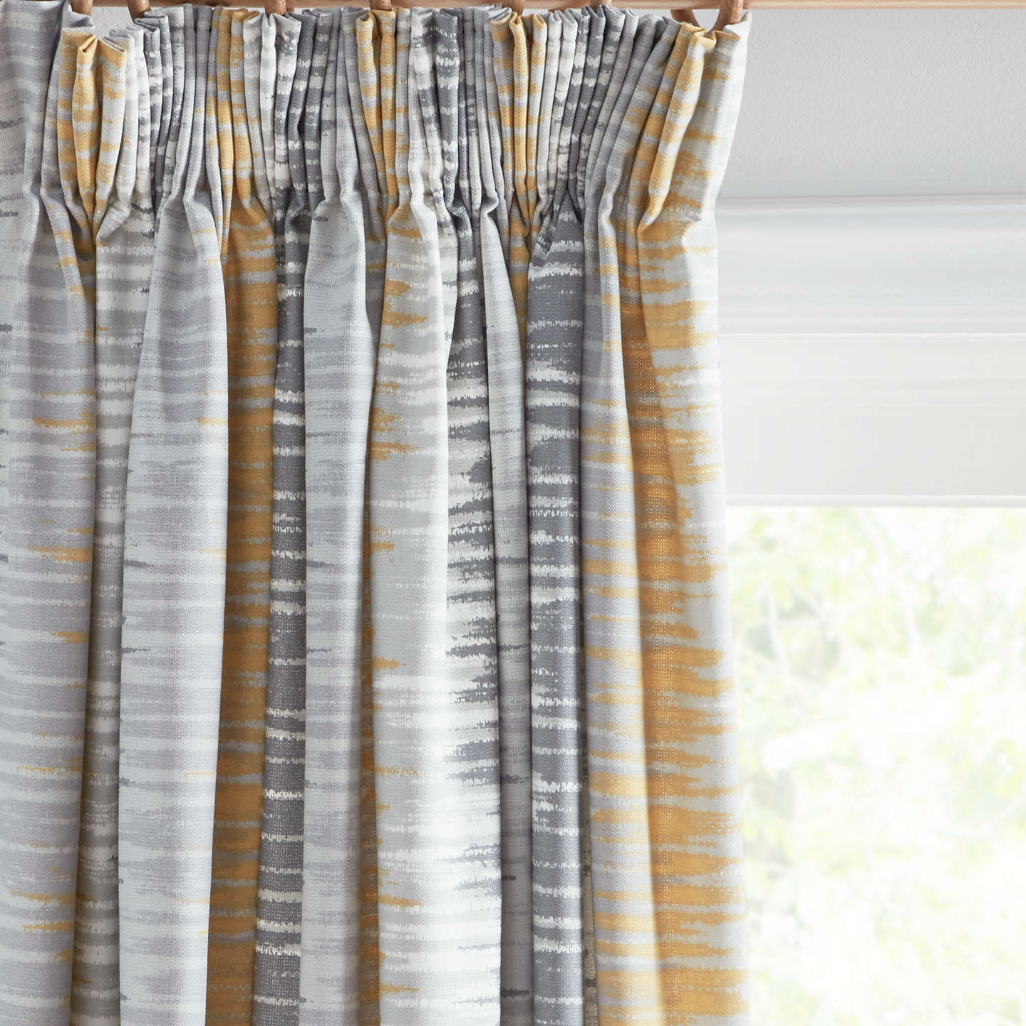 yellow embossed living slow jacquard curtains pleated brown european room gold curtain item style tulle for soul