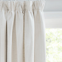 Buy John Lewis Croft Collection Lachlan Lined Pencil Pleat Curtains Online at johnlewis.com