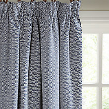 Buy John Lewis Mara Diamond Lined Pencil Pleat Curtains Online at johnlewis.com
