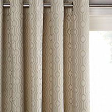 Buy John Lewis Mayfair Lined Eyelet Curtains Online at johnlewis.com