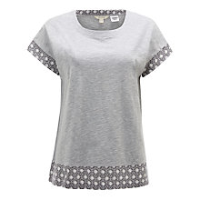 Buy White Stuff Alana Jersey T-Shirt, Misty Grey Plain Online at johnlewis.com