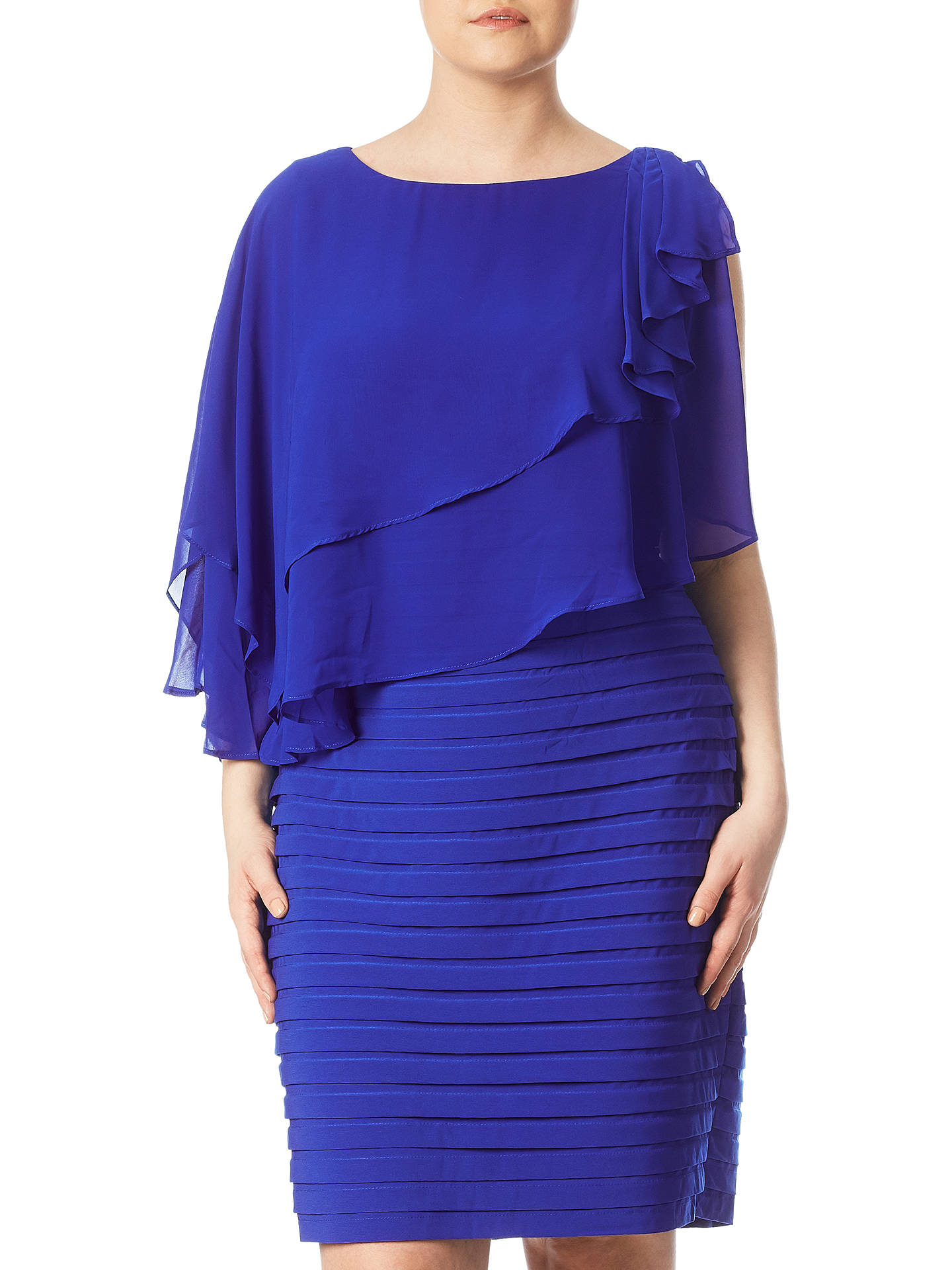 d1cae7a6374 BuyAdrianna Papell Plus Size Rosette Banded Capelet Dress