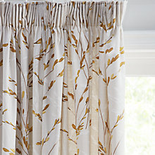 Buy John Lewis Willow Blossom Lined Pencil Pleat Curtains Online at johnlewis.com