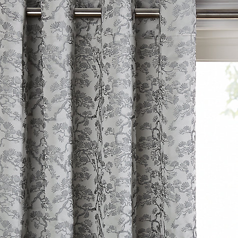 Eyelet Ready Made Curtains Voiles John Lewis - John lewis curtains grey