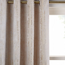 Buy John Lewis Compton Textured Lined Eyelet Curtains Online at johnlewis.com