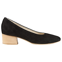 Buy Jigsaw Mila Block Heel Court Shoes Online at johnlewis.com