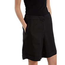 Buy White Stuff City Linen Shorts, Black Online at johnlewis.com