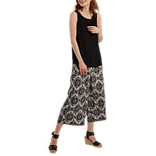 Buy White Stuff Alice Spring Trousers, Black Online at johnlewis.com