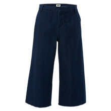 Buy White Stuff Denim Culottes, Mid Denim Online at johnlewis.com