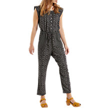 Buy White Stuff Darcy Jumpsuit, Black Online at johnlewis.com