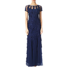 Buy Adrianna Papell Pailette Mermaid Gown, Twilight Online at johnlewis.com
