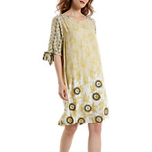 Buy White Stuff Blue Nile Dress, Tourmaline Yellow Print Online at johnlewis.com