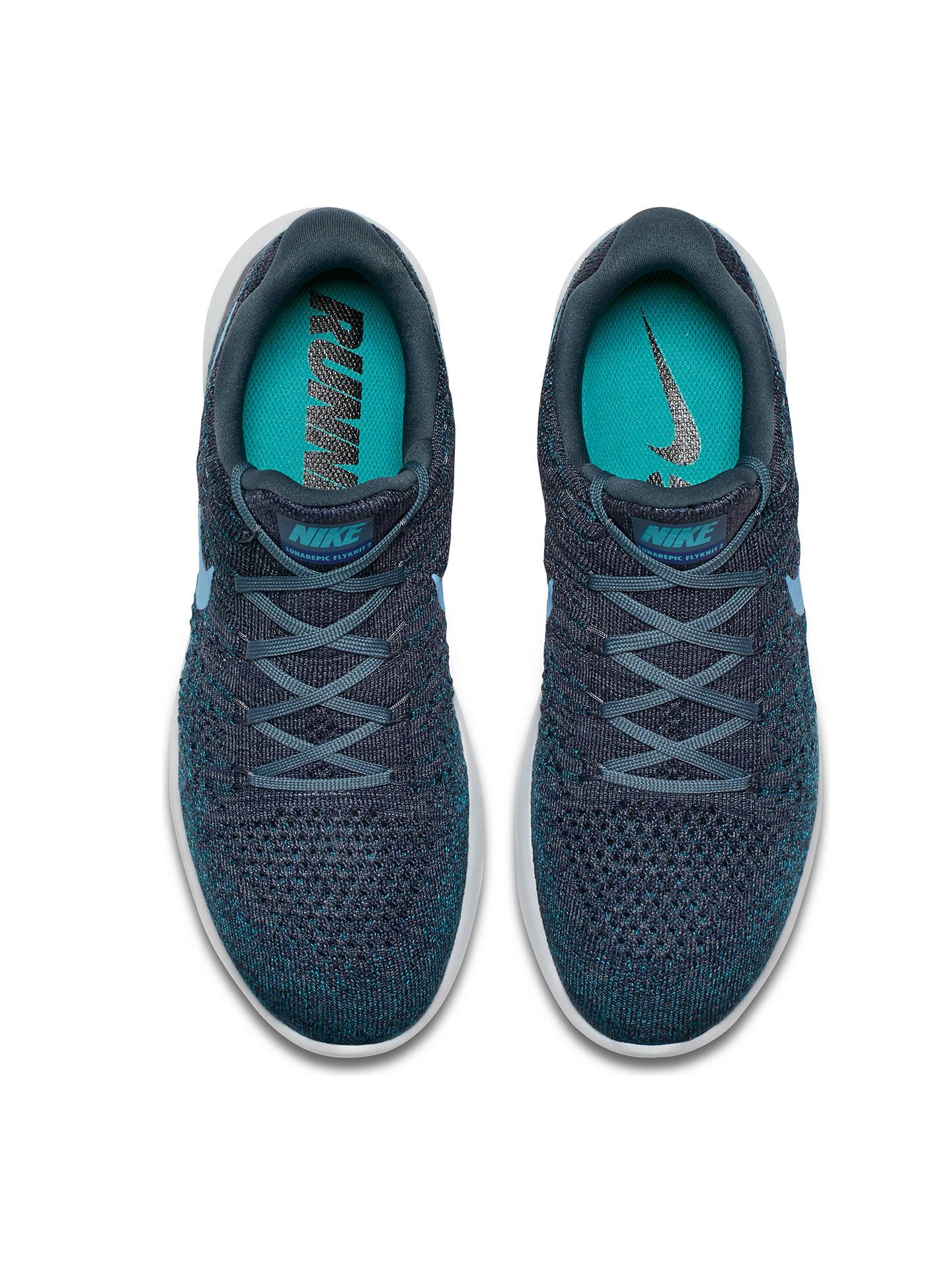 san francisco d7ecd da478 Nike LunarEpic Low Flyknit 2 Men's Running Shoes, Blue at ...