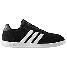 Buy adidas Essential Cross Court Men's Trainers, Black Online at johnlewis.com