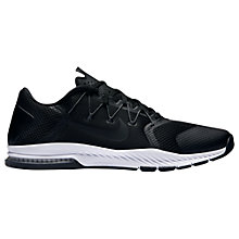 Buy Nike Zoom Train Complete Men's Cross Trainers, Black Online at johnlewis.com