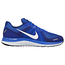 Buy Nike Dual Fusion X 2 Men's Running Shoes, Blue/White Online at johnlewis.com
