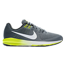 Buy Nike Air Zoom Structure 21 Men's Running Shoes Online at johnlewis.com