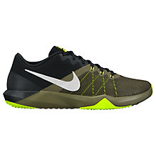 Buy Nike Retaliation TR Cross Trainers, Silver/Green Online at johnlewis.com