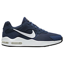 Buy Nike Air Max Guile Men's Trainer, Blue/White Online at johnlewis.com