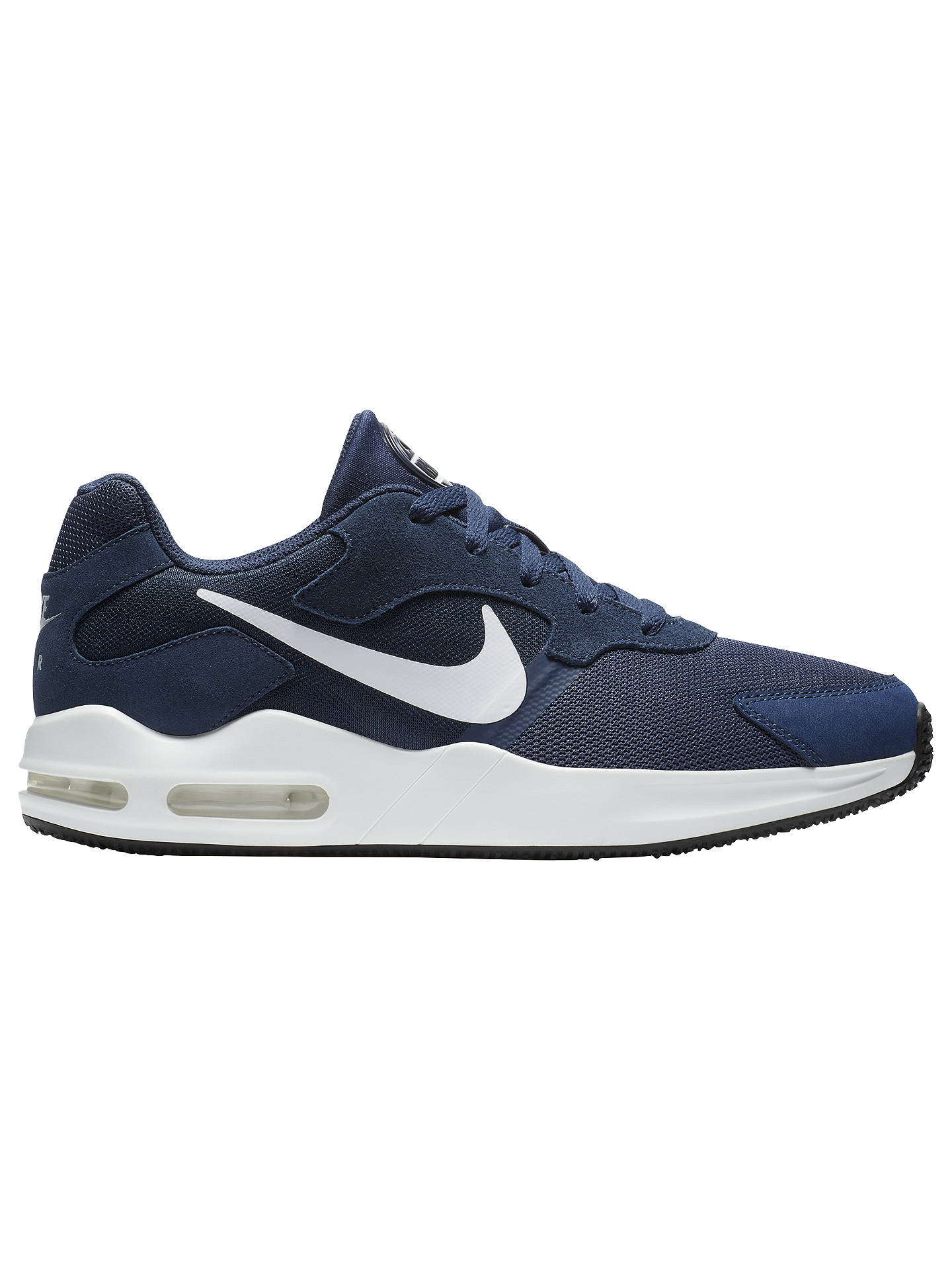 Nike Air Max Guile Men's Trainers, BlueWhite at John Lewis