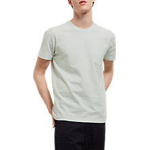 Buy Jaeger Cotton Crew Neck T-Shirt, Mint Online at johnlewis.com