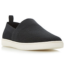 Buy Dune Fargo Fabric Slip-On Shoes Online at johnlewis.com