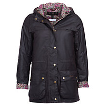 Buy Barbour Blaise Waxed Jacket, Rustic Online at johnlewis.com