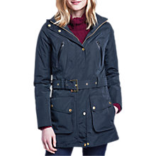 Buy Barbour International Maree Waterproof Jacket, Black Online at johnlewis.com