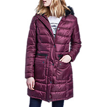 Buy Barbour International Dunnet Quilted Jacket, Barolo Online at johnlewis.com