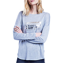 Buy Barbour Mallory Long Sleeve Logo T-Shirt Online at johnlewis.com