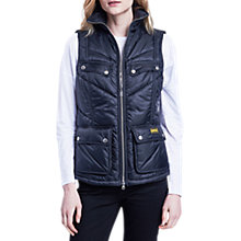 Buy Barbour International Portree Gilet, Black Online at johnlewis.com