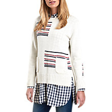 Buy Barbour Seaton Block Stripe Panel Jumper Online at johnlewis.com