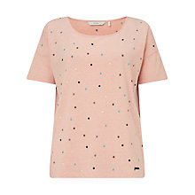Buy Numph Hugette T-Shirt, Rose Dust Online at johnlewis.com