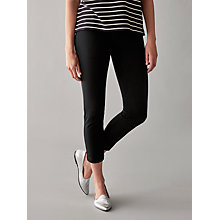 Buy Numph Joyanna Cropped Trousers, Caviar Online at johnlewis.com