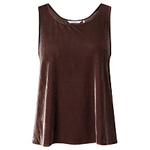 Buy Numph Laycie Top, Deep Taupe Online at johnlewis.com