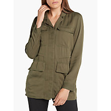 Buy Minimum Oktavia Jacket, Khaki Online at johnlewis.com