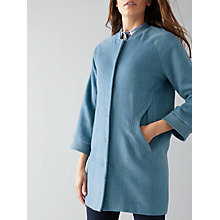 Buy Numph Maryl Wool-Blend Coat, Bluestone Online at johnlewis.com