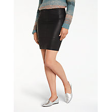 Buy Minimum Tilla Skirt, Black Online at johnlewis.com
