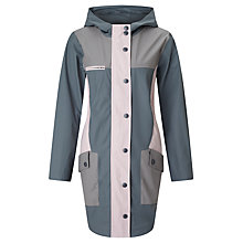Buy Numph Morganie Colour Block Coat, Iron Gate Online at johnlewis.com