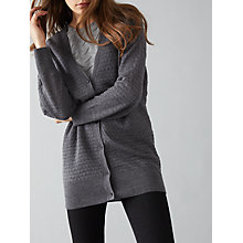 Buy Numph Bretta Cardigan, Iron Gate Online at johnlewis.com