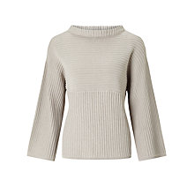Buy Numph Devan Ribbed Jumper, Chateaux Grey Online at johnlewis.com