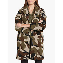 Buy Minimum Belinde Coat, Camouflage Online at johnlewis.com