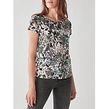 Buy Numph Tiffney Printed T-Shirt, Rose Dust Online at johnlewis.com