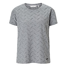 Buy Numph New Kota T-Shirt, Grey Melange Online at johnlewis.com